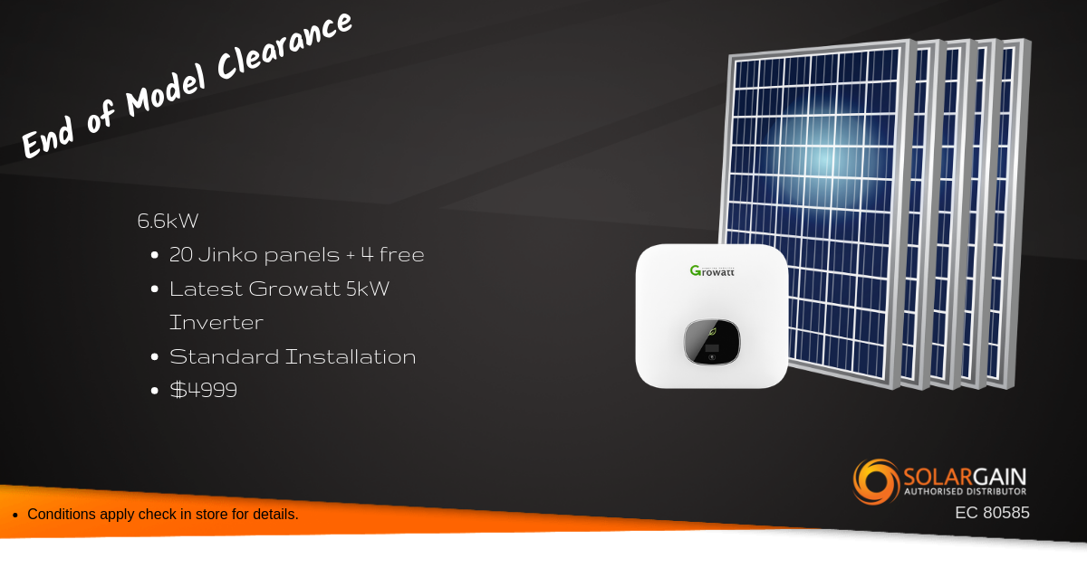 August '19 Solar Special - Climate Care Electrical & Solar